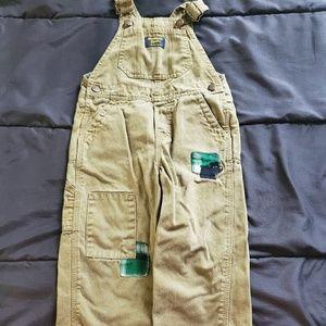 boy size 24 osh kosh overalls
